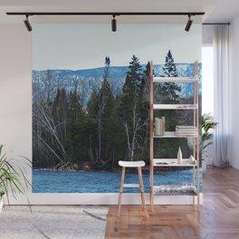 Blue Mountain River Wall Mural