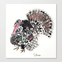 turkey Canvas Prints featuring Turkey by Elena Sandovici