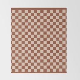GrannySquare-TreeStem+RollingPin Throw Blanket