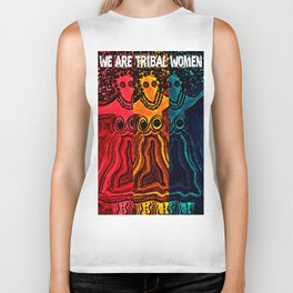 We Are Tribal Women ~ The Deep Soul Tribe Biker Tank