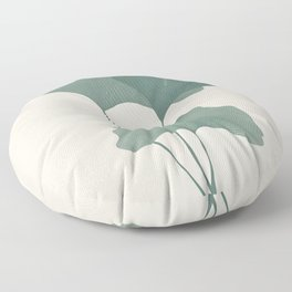 Ginko Leaves Floor Pillow