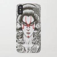 geisha iPhone & iPod Cases featuring Geisha by Demones