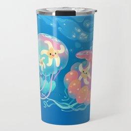 Jellyfish bus Travel Mug