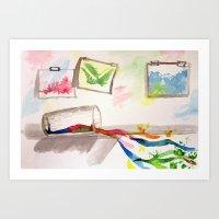 Creative Juices.  Art Print