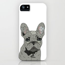 Frenchie Bulldog Puppy iPhone Case
