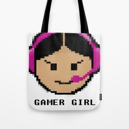 The Gamer Girl Tote Bag