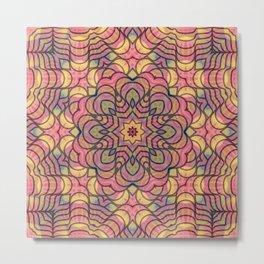 Polygonicity, 2190s Metal Print