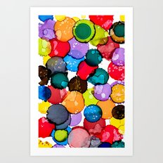 Splash of joy Art Print