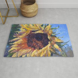 Good Morning Sunflower — Provence, France Rug