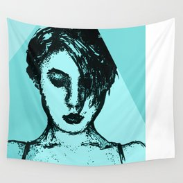Lady Time Wall Tapestry