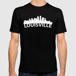 Curved Skyline Of Louisville KY T-shirt