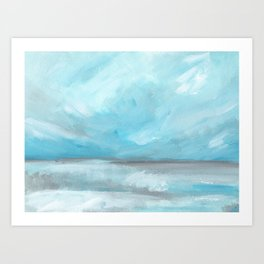 Whirlwind - Stormy Ocean Seascape Art Print