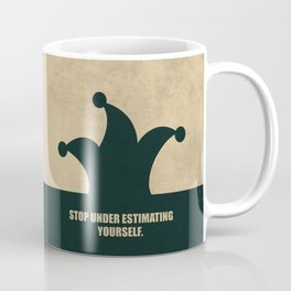 Lab No. 4 - Stop Under Estimating Yourself Corporate Start-up Quotes Coffee Mug