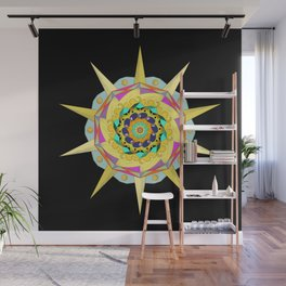 Colorful Mandala Wall Mural