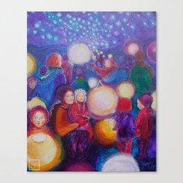 Lantern Walk 2017 Canvas Print