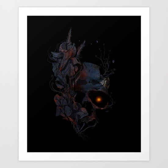 DeathBlooms Art Print