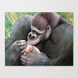 Kala and Tarzan Canvas Print