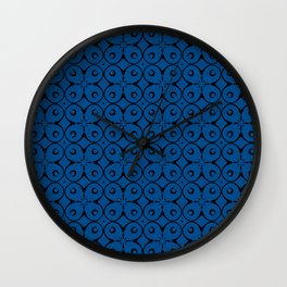 My Lucky Day Lapis Blue Wall Clock