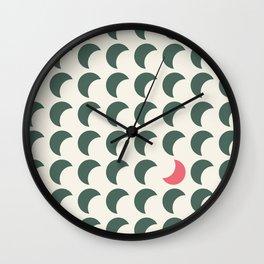 All waming - You waxing Wall Clock