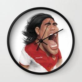 Falcao - Monaco Wall Clock
