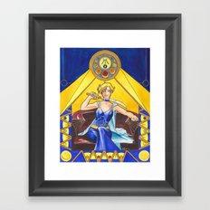 Princess Uranus Framed Art Print