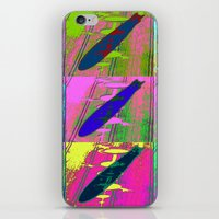 led zeppelin iPhone & iPod Skins featuring Zeppelin Warhol by Sara PixelPixie