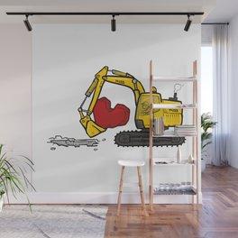 Heart Digger Wall Mural