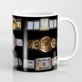 B&W Wrestling Logo Coffee Mug