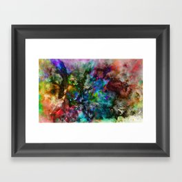Everything is nothing 18 (therefore it was beautiful) Framed Art Print