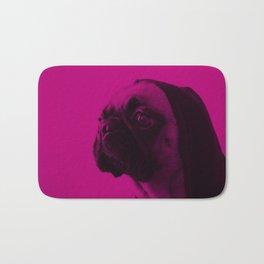 Pink Pug Bath Mat
