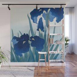 Ohara Koson - Iris flowers Wall Mural