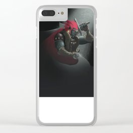 The King of Evil Clear iPhone Case