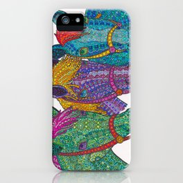 Horse Triptych #1 iPhone Case