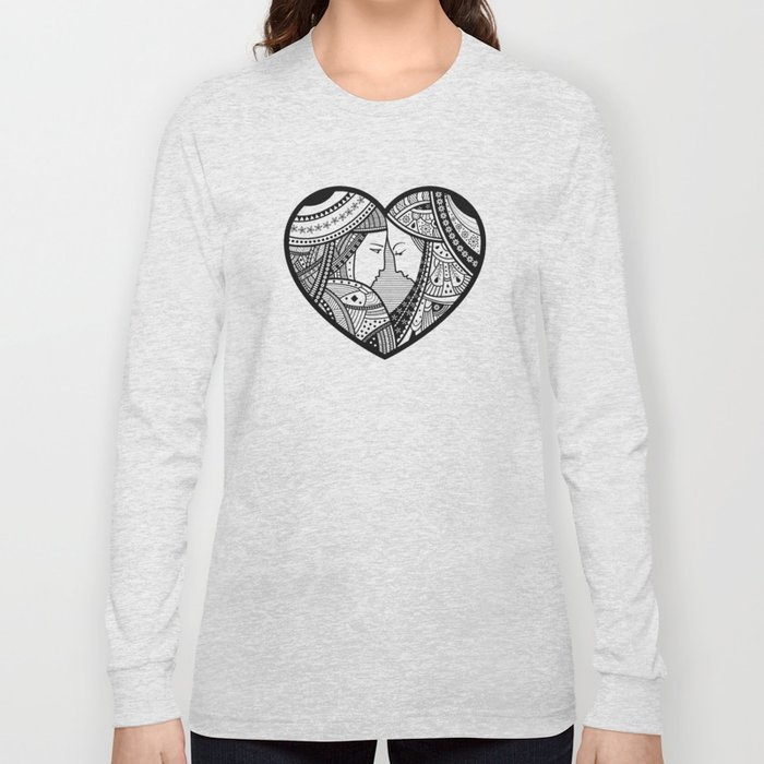Couple of lovers Long Sleeve T-shirt