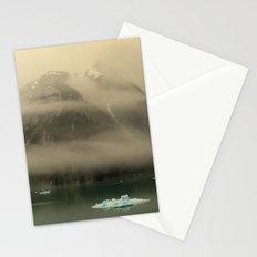 Icebergs in Alaska Stationery Cards