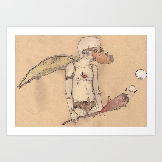 MT man Art Print