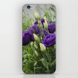 Blue Lisianthus iPhone Skin