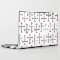 pastel goth Laptop & iPad Skins featuring Pastel Goth | Grunge by Glitterati Grunge