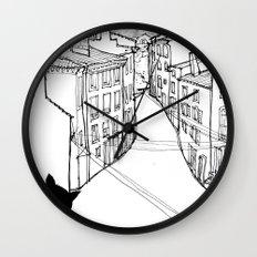 provence's cat Wall Clock