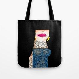 Black Mamba Tote Bag