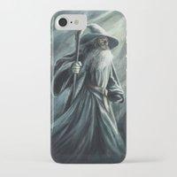 gandalf iPhone & iPod Cases featuring Gandalf by Svenja Gosen