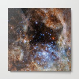 Hubble picture 26 : star cluster R136 in the Large Magellanic Cloud  Metal Print