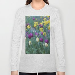Spring Tulip Garden Long Sleeve T-shirt