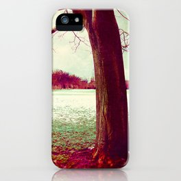 Martian Winter I iPhone Case
