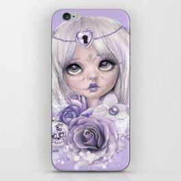 Lavender Grey - Sugar Sweeties - Sheena Pike Art & Illustration iPhone Skin