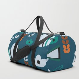 Little birds, flowers and fruits Duffle Bag