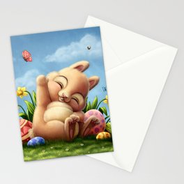 A little Easter bunny Stationery Cards