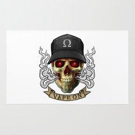 Vaping Skull - Vape On - Cloud Chaser - Vaper Rug