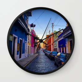 Old San Juan Wall Clock
