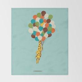 Floating Away Throw Blanket
